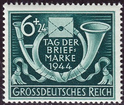 Deutsches Reich 904 ** Tag der Briefmarke 1944, postfrisch