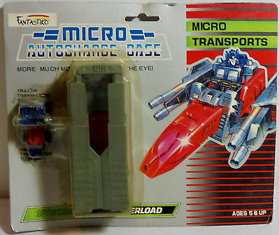 TRANSFORMERS VTG 80's MICROMASTERS TRANSPORTS OVERLOAD ROBOT MOSC RARE
