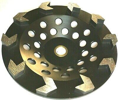 7 Arrow Segment Diamond Cup Wheel Concrete Epoxy Mastic Grinding 58-78-best