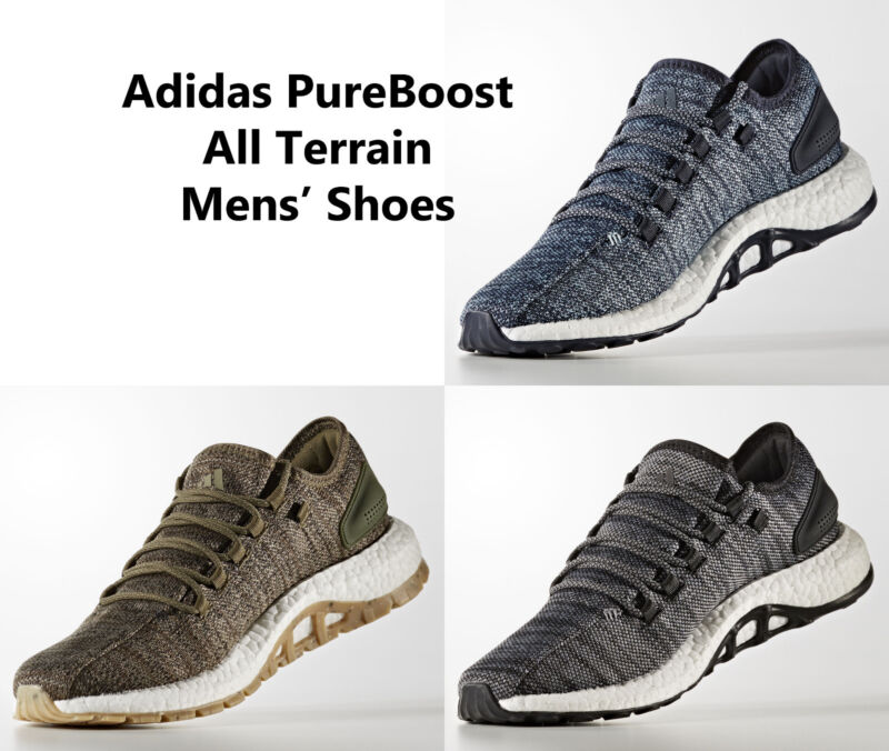 2a45afbb4 ... discount code for mens adidas pureboost all terrain running shoes  sneakers new d03e7 81a00
