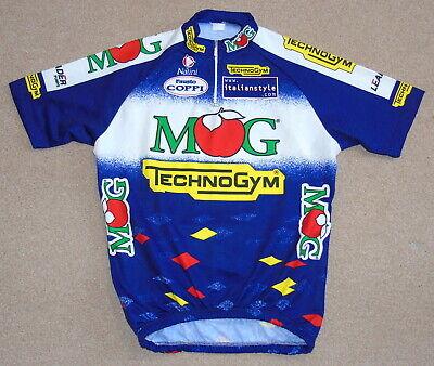 MG MAGLIFICIO TECHNOGYM Retro Cycling Jersey