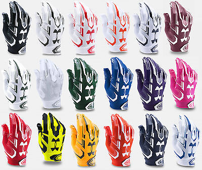 Under Armour Mens Ua 2017 F5 Adult Football Receivers Gloves   Many Colors