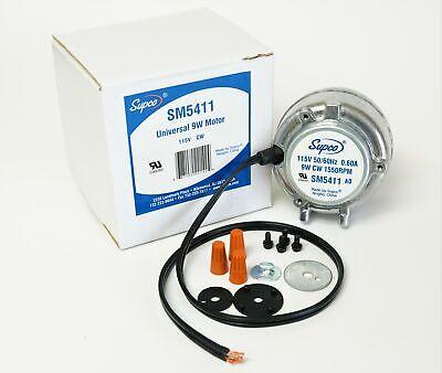 5411 Refrigerator Refrigeration Condenser Unit Bearing Motor 9 Watt Cw 115 V.