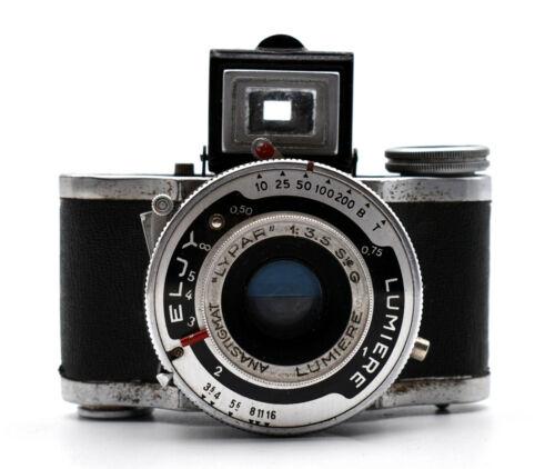 ELJY Camera Miniature Light Anastignat + Case 1945 Miniature Camera