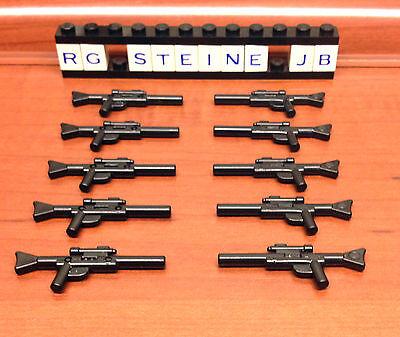 Lego® Star Wars™ 10x Blastergewehr lang DC-15 Waffe Stormtrooper Sniper NEU W14  ()