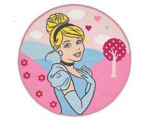 Grande-Princesa-Disney-Encantadora-Redondo-Alfombra-Nuevo-Ninos-Ninas-Rosa