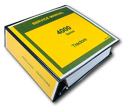 Technical Service Manual John Deere 4000 4010 4020 Tractor Repair Sm-2039