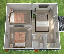 Granny Flat Kit 2x Bedroom Flat Pack 39 sqm Chipping Norton Liverpool Area Preview