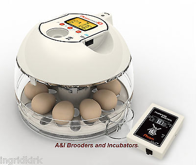 RCom Pro10 Plus Automatic Egg Incubator Quail Chicken Avian DIGITAL Warranty USA
