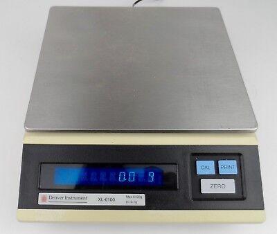 Denver Instrument Xl-6100 Top Loader Digital Balance