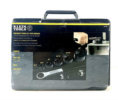 Klein Tools 53732sen Punch Set Knockout Punch Set Punch Down Tools With