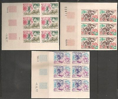 Mali #C153-C155 (AP64) VF MNH IMPERF - 1972 70fr to 150fr Fairy Tales