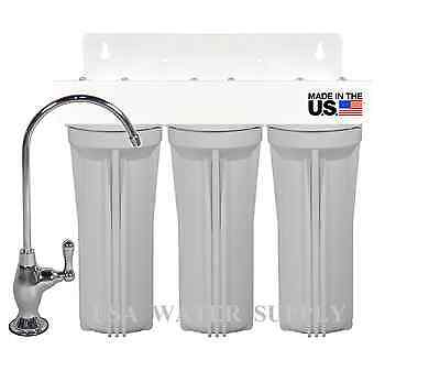 Zero Waste Household Office 4 Stage Water Filtration Drinking System RV, BAR