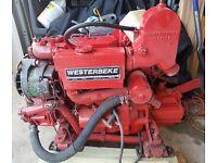 Westerbeke Marine Diesel Engine w/ Transmission