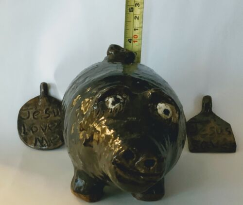 Pig and Pendants by:Marie Rogers