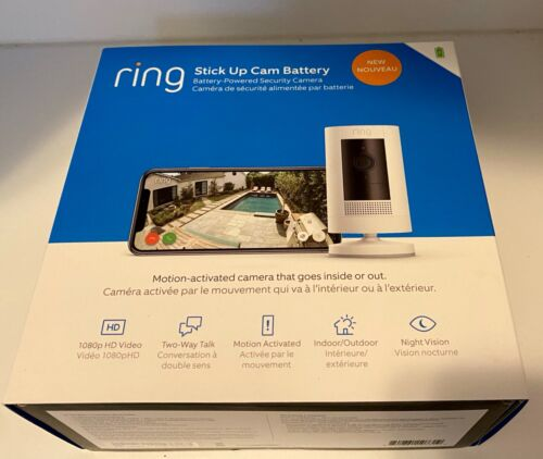 Ring Stick Up Camera (Battery, Indoor / Outdoor, *BRAND NEW*)