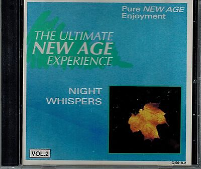 NIGHT WHISPERS - THE ULTIMATE NEW AGE EXPERIENCE - MINT IMPORT  CD ()