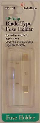 Radioshack 270-1231 Apr Atc Ato Ats Blade-type Inline Fuse Holder 40a 40-amp