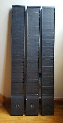 Lathem Heavy Duty 25 Pocket Time Clock Card Rack In Black Pressed Steel