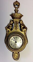 Antique Seth Thomas Metal Wall Clock