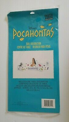 POCAHONTAS TABLE DECORATION ~ Birthday Party Supplies Centerpiece Vintage