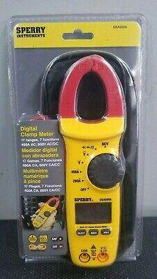 Sperry Instruments Digital Snap-around Clamp Meter Dsa500a