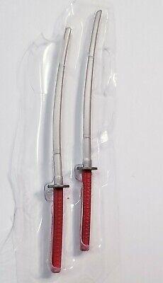 Marvel Legends Deadpool Kitana Sword Lot Weapons Lot For Custom Fodder