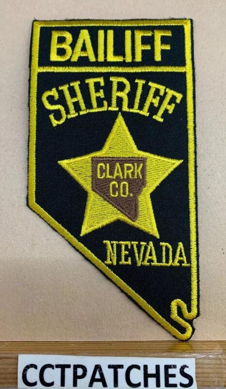 CLARK COUNTY, NEVADA BAILIFF SHERIFF (POLICE) SHOULDER PATCH NV