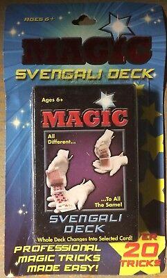 Magic Playing Cards Trick Set Svengali Deck