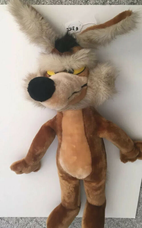 "Wile E.Coyote Plush 24"" Warner Brothers 1993.  Excellent Used Condition."