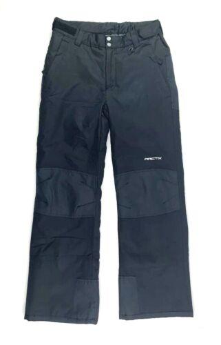 Arctix Youth XL Snow Pants Black Reinforced Knees & Seat Adjustable Waist