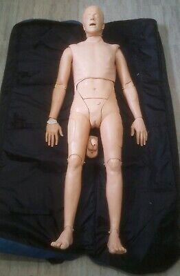 Laerdal Sim Man Unisex Full Body Nursing Training Simulator Manikin Medical
