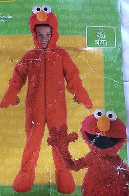 Sesame Street Elmo Plush Deluxe Toddler Halloween Costume Size 2T - Elmo Halloween Costume 2t