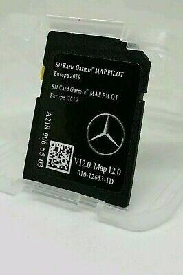 NEU 2019 Mercedes-Benz Garmin SD Karte EUROPA V12.0 A, B,C, E, GLA, GLC, GLE.