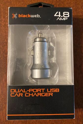 Blackweb Dual Port USB Car Charger 4.8 AMP - $2.99