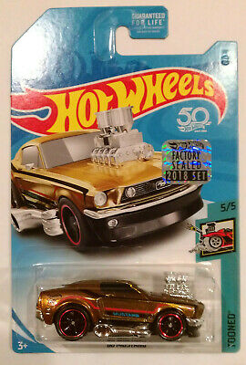 2018 HOT WHEELS RLC FACTORY SET SUPER TREASURE HUNT '68 MUSTANG