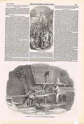 Sash Bar (1850 The Sash Bar Cutting Machine For Great Exhibition Paying Workmen)