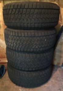 Bridgestone Blizzak 225/55R18 Winter Tires [Set of 4]