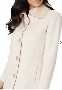 New tags ALANNAH HILL SOMETHING BORROWED COAT WOOL SIZE 14 rrp$529