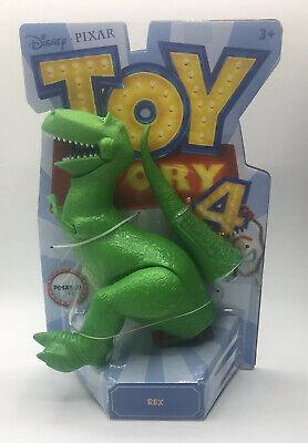 Disney Pixar: Toy Story 4 - Posable Rex Action Figures New