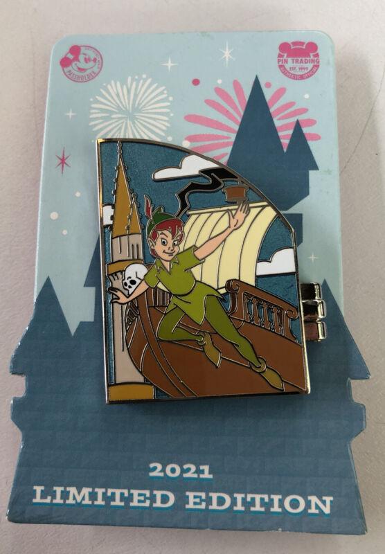 Disney 2021 Limited Edition Passholder Peter Pan Folding Pin
