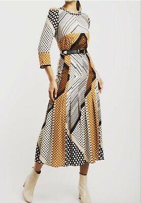 Alba conde patchwork dress Size 14