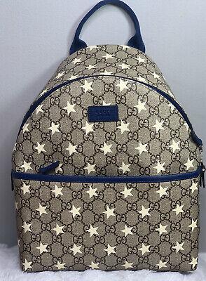 Gucci Kids - GG Supreme Stars print backpack
