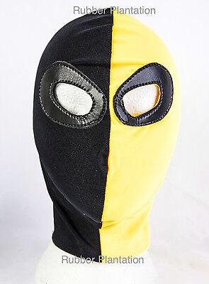 Elastan Deathstroke Maske Mexikanisch Wrestling Kostüm Halloween - Deathstroke Kostüm Maske