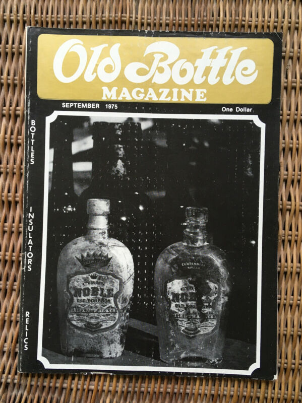Avon New York; Poland Spring, Maine; Old Bottle Magazine September 1975