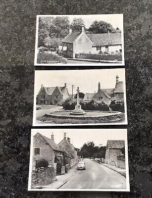 Three Old Postcards Of Great Barrington On Gloucs/ Oxford Border