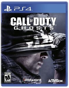 Call of Duty Ghosts for PS4 PlayStation 4 console