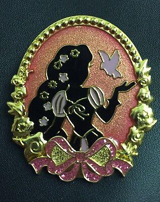 Disney Japan TDR TDL Tokyo Disneyland Princess Silhouette Rapunzel Tangled Pin