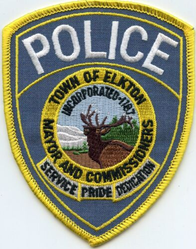 ELKTON MARYLAND MD POLICE PATCH