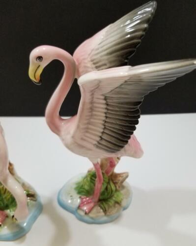 Norcrest Pink Flamingo Figures_Set of 2